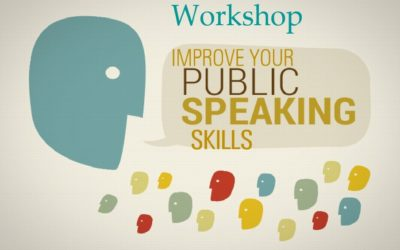 Workshop on public speaking for future debates
